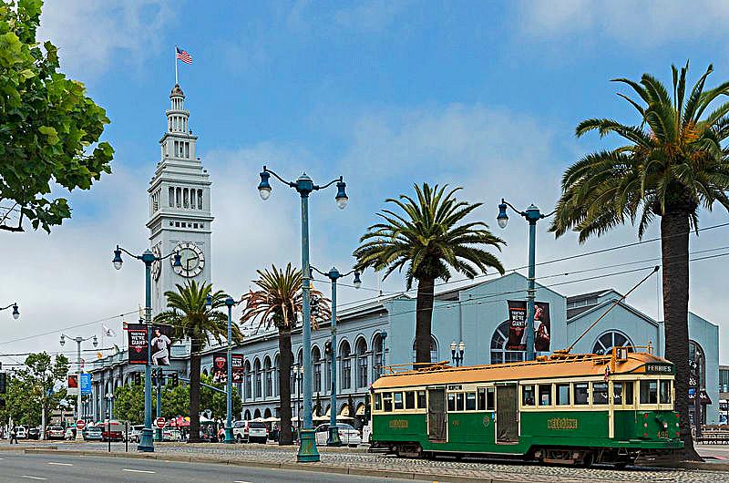 San Francisco Ferry Building Photo Credit DXR