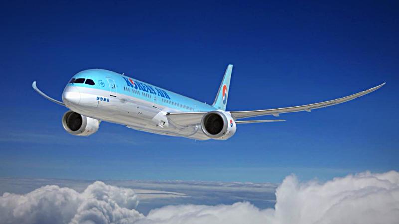 Aviation-boeing-787-9-dreamliner-korean-air-in-flight