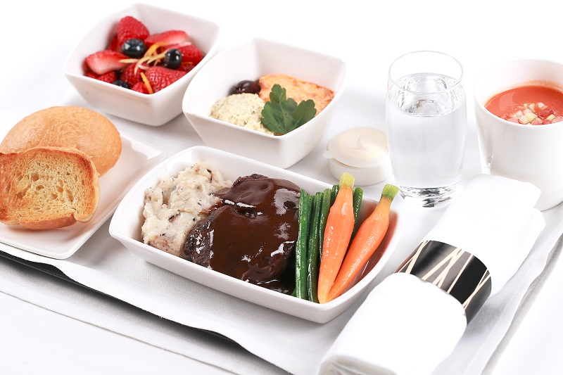 image-of-Cathay-Pacific-inflight-business-class-food