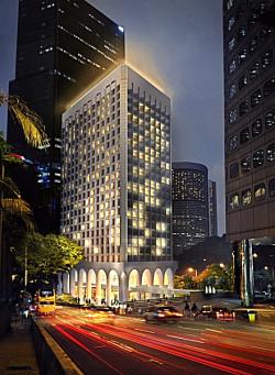 Hong kong murray hotel niccolo