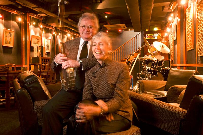 David and Jackie Higgins, owners of Macau Soul