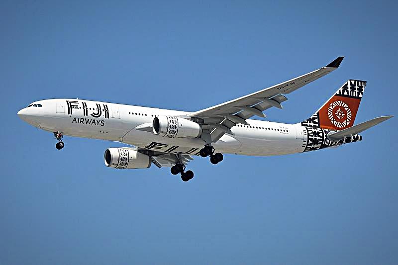 Aviation-fiji-airways-jetliner-in-=flight