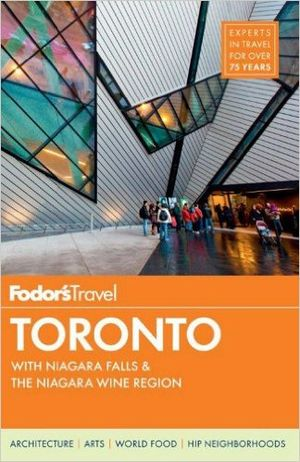 Book-fodor-toronto-travel-guide