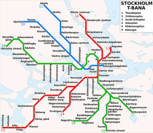 Map-of-stockhom-t-bana