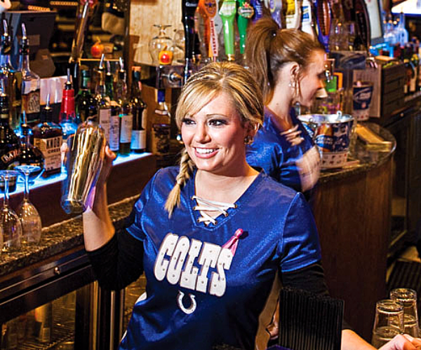 Indianapolis Colts bar hostess