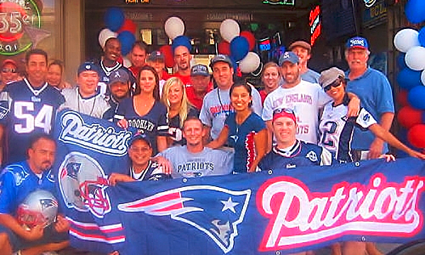 New England Patriots fans in Southern California