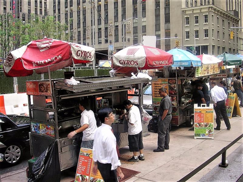 NYC street vendors Credt Ian Gratton