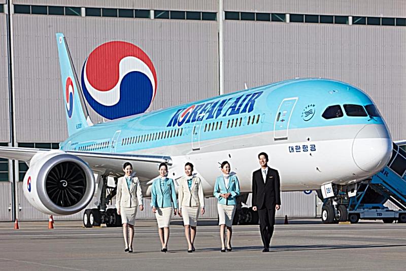 Aviation-boeing-787-9-dreamliner-9-korean-air-on-tarmac