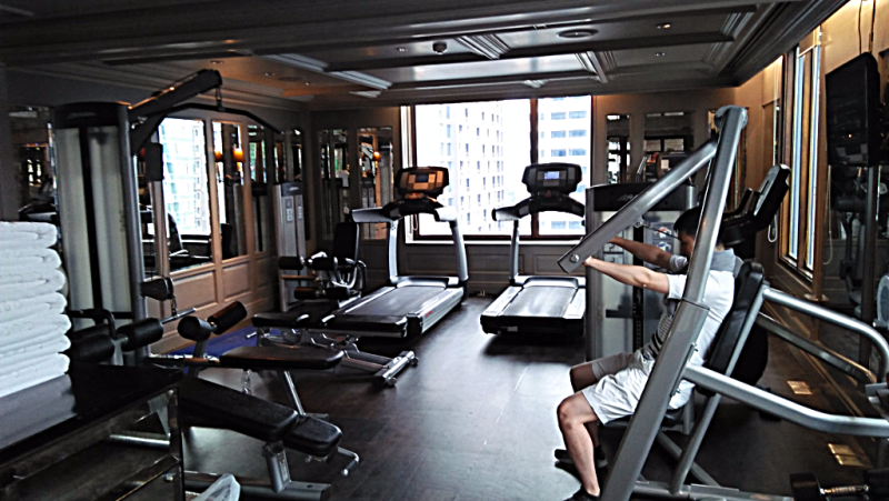 Thailand-bangkok-hotel-muse fitness-room