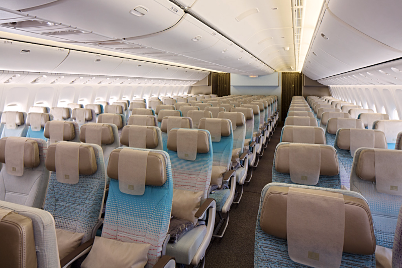 Aviation-emirates-airline-Economy-Class-cabin-on-Boeing-777-300ER